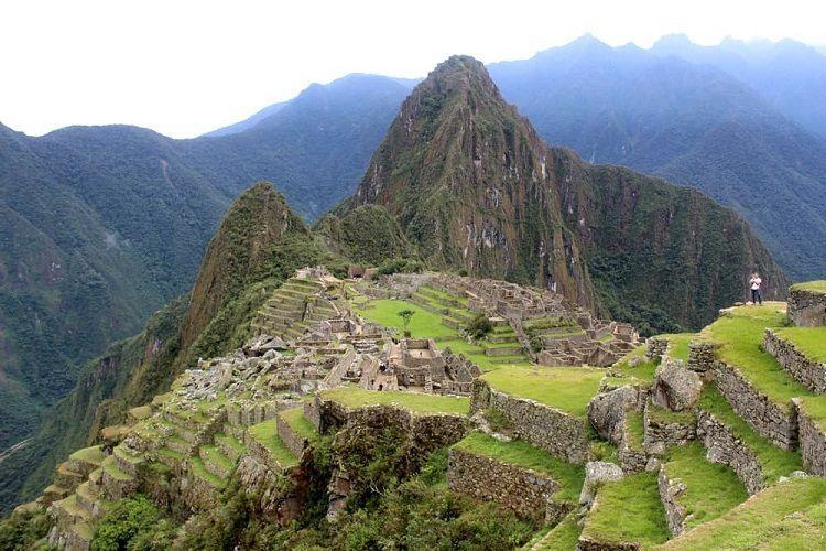 Elevation of Machu Picchu