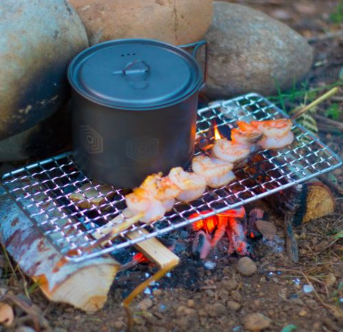 Bushcraft Backpacking Grill