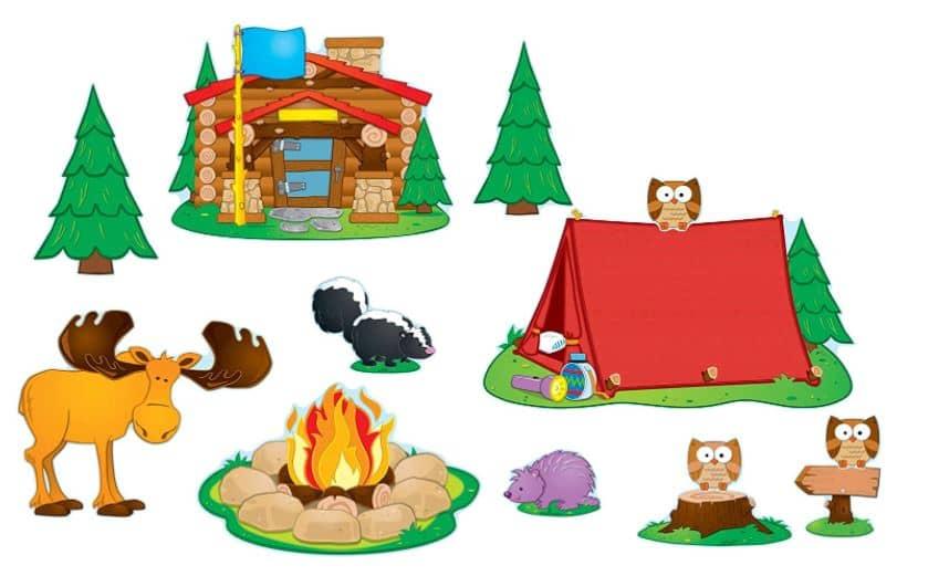 Camping Bulletin board